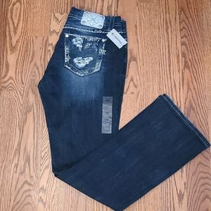 Miss Me Easy Boot Jeans Size 30